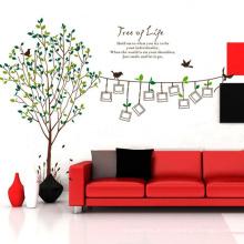 Familienfoto Rahmen Design Überlegene Qualität Wandaufkleber Baum Whiteboard Pvc Abnehmbare Dekore Vinyl Aufkleber Aufkleber