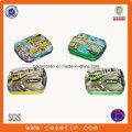 Pequeña caja de embalaje de latas rectangulares rectangulares rectangulares