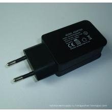 EU Plug 5V2a USB-зарядное устройство для мобильного телефона