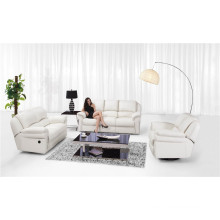 Living Room Genuine Leather Sofa (811)