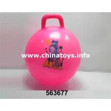 La última pelota de playa inflable promocional de PVC (563677)