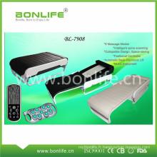 Chaude Jade Stone et les rayons infrarouges lointains électrique Auto thérapie thermique lit de massage avec pliage pliable portable Design
