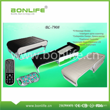 Warm Jade Stone and Far Infrared Rays Electric Auto Thermal Therapy Massage Bed with Portable Collapsible Folding Design