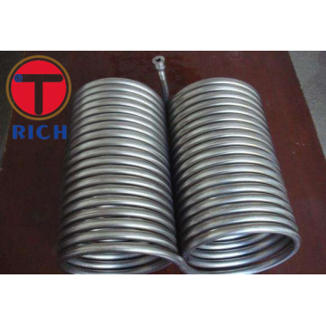 TP304 / 304L / 316 / 316L Stainless Steel Coil Tube
