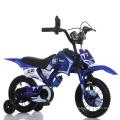 Bicyclette de saleté d'enfants de 16 pouces / bicyclette bleue de bicyclette de BMX / moto