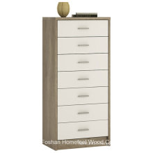 Effortless High Gloss Bedroom 7 Drawer Dresser Chest (HC26)