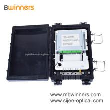 Распределительная коробка 24 сердечника оптического кабеля Материал ABS