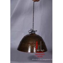 Lámpara colgante de hierro