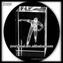 K9 3D Laser Skating in Crystal Rechteck