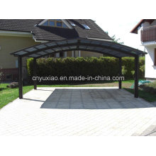 Strong and Steady Canopy Carport with All-Alminum Frame and Solid Polycarbonate