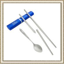 Conjunto de talheres de aço inoxidável (CL1Y-CS204) de dobramento