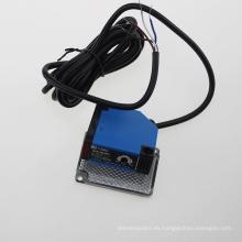Sensor fotoeléctrico del interruptor fotoeléctrico cuadrado infrarrojo de la detección G50-3b4PC con el espejo