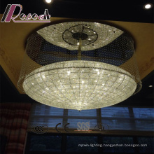 Hot Style Hotel Lobby Clear Crystal Strings Chandelier
