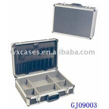 Caixa de ferramenta de alumínio forte com rebatível ferramenta pálete e compartimentos ajustáveis dentro fabricante
