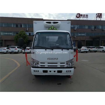 ISUZU freezer box refrigerator truck vehicle