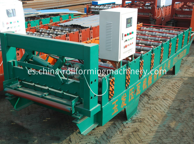 15-225-900 color steel wall tile making machine