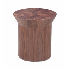 Stable Base Coffee Table Solid Wooden for Home Furniture Circular Tea Table for Sale