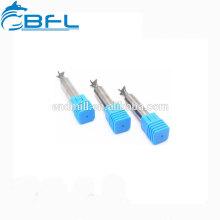 Fraise en bout en queue d'aronde adaptée aux besoins du client par coupeur de fraisage de queue de queue de carbure de BFL