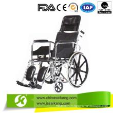 Chaise roulante manuelle en acier pour handicapés Personnes à prix compétitif