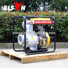 BISON China Taizhou 6inch Hochdruck Industrie Diesel Generator Pumpe