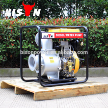 BISON China Taizhou BSDWP60 Reliable Hot Sale to 6 inch Farm Irrigation Movable Diesel Water Pump