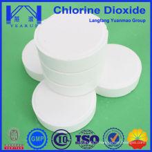 Circulation industrielle Traitement de l'eau Traitement chimique 100g Tablette à base de dioxyde de chlore au meilleur prix