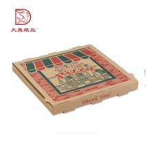 Verschiedene Arten von Einwegverpackungen nach Maß für Pizza