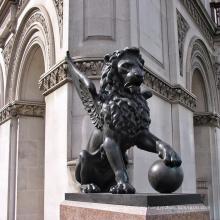 Heiße Bronzefliege-Löwe-Statue des heißen Verkaufs Kolumbien 1808