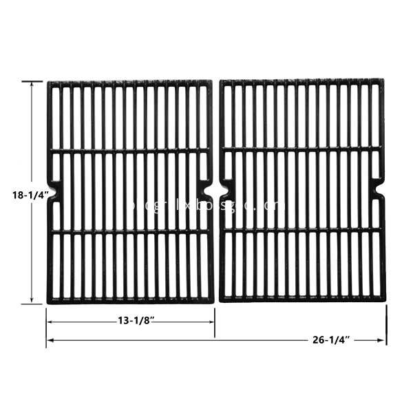 Cast Iron Replacement Cooking Grids 1 Sets Of 2