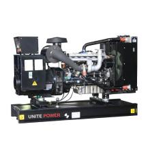 60Hz 110kVA 88kw Tipo abierto Generador Lovol