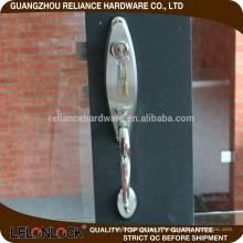 High quality aluminum sliding door handle and lock,container door lock,door lock faceplate