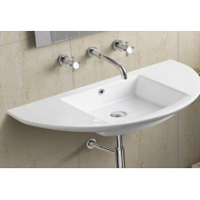 Ceramic Wall Hung Bathroom Basin (658)