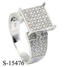 Последняя Модель Мода Ювелирных Изделий Кольцо Серебро 925
