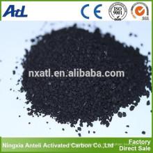 Iode 300 mg / g granulés 6x16 granulés de charbon actif pour le traitement de l'eau