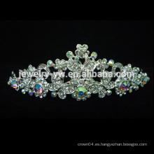 Princesa magnífica asombrosamente hermosa de la princesa boda Corona del art déco el 100% a estrenar