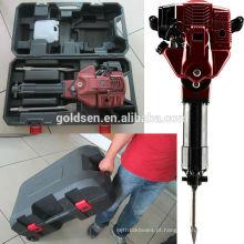 Hot Sales 1700w 2.4HP 52cc Gás Powered Jack Hammer Portátil Gasolina Road Breaker Machine