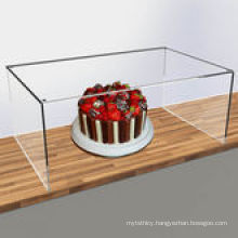 Clear Acrylic Sneeze Screen to Guard Food Products