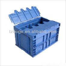 molde plástico da caixa do volume de negócios da tampa