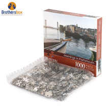 Custom Personalized Board 1000 pieces Jigsaw Puzzle Printer