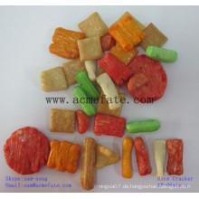 Heiße japanische Reis Cracker Snack