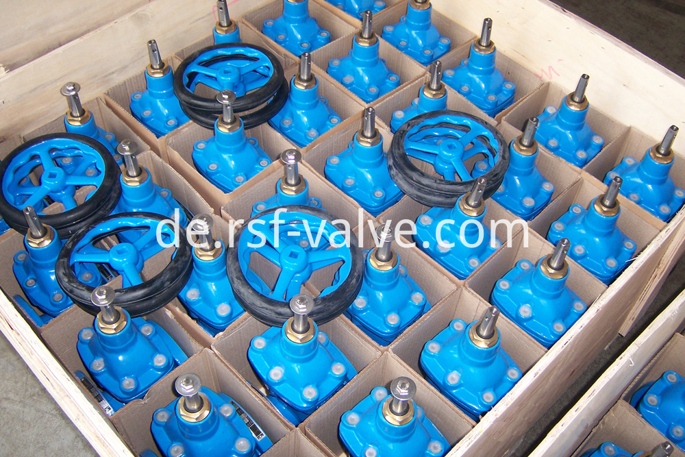Resilient Gate Valve Handwheel Packaging