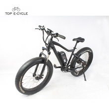 Popular 26*4.0 Fat tire Front Suspension ebike With Bafang Mid Drive Motor