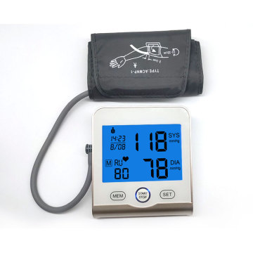 Automatical Doctor OEM LCD مراقبة ضغط الدم