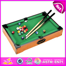 2014 New Wooden Snooker Table Toy, Popular Wooden Toy Snooker Table for Sale, Latest Snooker Table Toy Factory W11A027