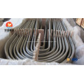 ASME SA213 TP347 échangeur de chaleur U coude Tube