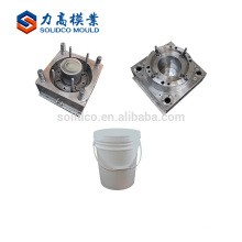Customized Design Changeable Plastic Paint Bucket Body Mould Plastic Paint Bucket Injection Mould