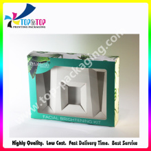 New Arrival Folding Perfume Cardboard Box with PVC Window