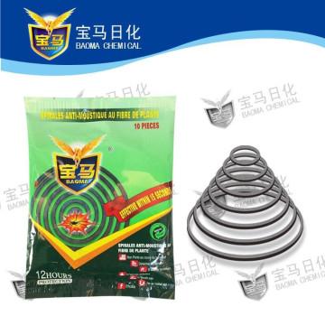 Bobina de mosquito de fibra vegetal Baoma (fábrica original)