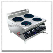 K459 Counter Top Electric 4 Hot Plate Cookware