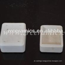 al2o3 99.5 Rectangle Ceramic crucible